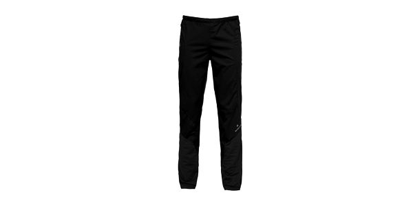 Pánské černé softshellové kalhoty Bergson