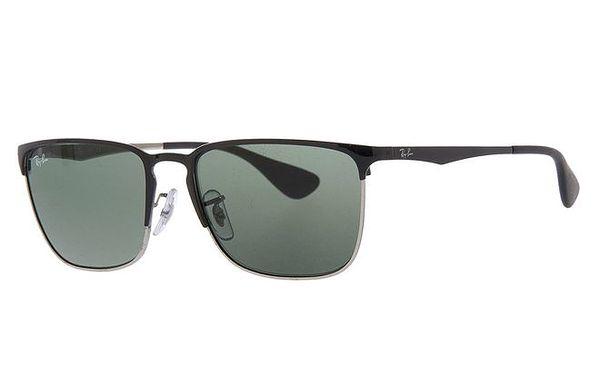 Pánské sluneční brýle s tmavě šedými skly Ray-Ban