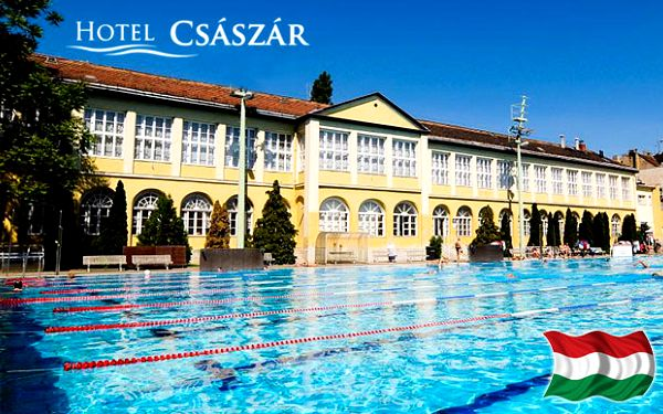 Wellness pobyt v 3* hotelu v Budapešti