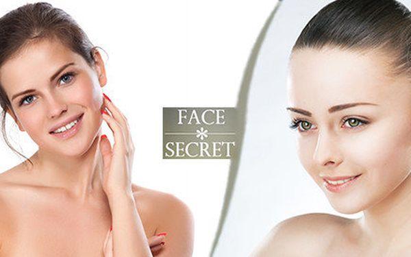 Kosmetické ošetření pleti pro zářivou čistou pleť