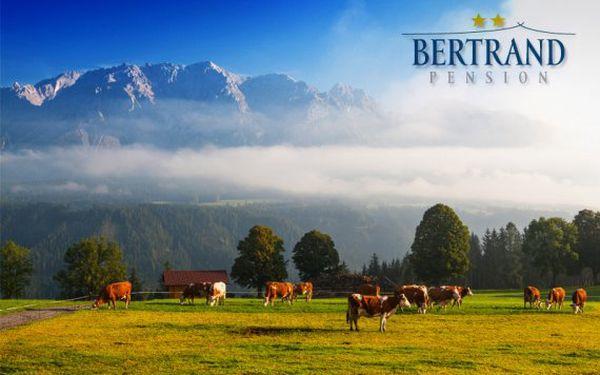 Dovolená s polopenzí v rakouských Alpách