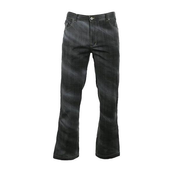 Pánské softshellové kalhoty s džínovým vzorem Trimm
