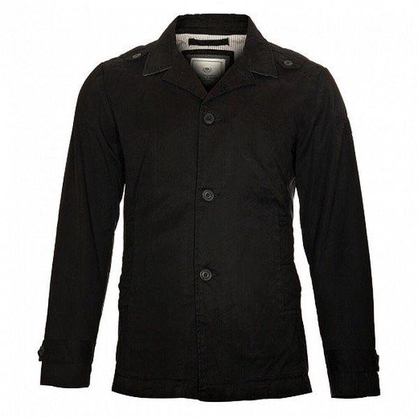 Pánský černý kabát Timeout