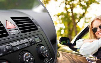 Čištění autoklimatizace s možností kompletní dezinfekce