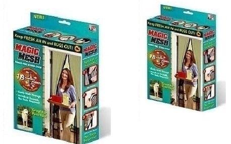 VYPRODEJ ! Magnetická dveřní síť proti hmyzu za bezkonkurenční cenu 119 Kč!