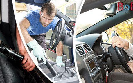 Tepování a čištění vašeho vozu ozonem