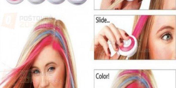 Křídy na obarvení vlasů - 4 ks a poštovné ZDARMA s dodáním do 3 dnů! - 24308712