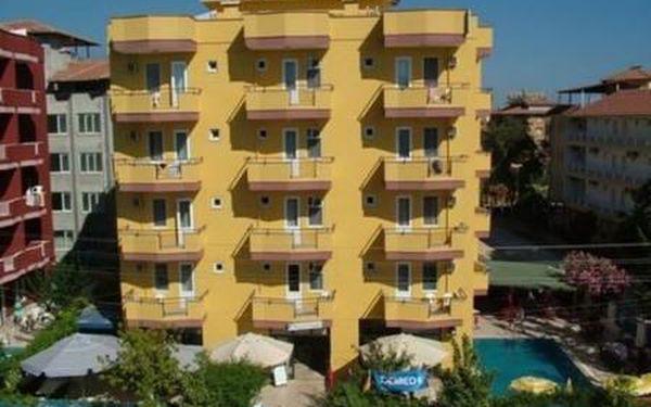 Letecky do Turecka, 8 dnů s polopenzí v 3* hotelu Moonlight Hotel