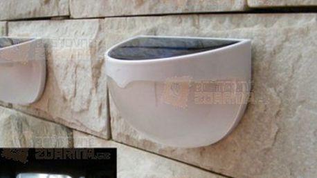 6 LED solární nástěnná lampa a poštovné ZDARMA! - 21011836