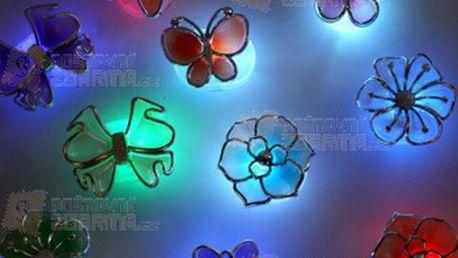 Noční LED světlo na zeď - květiny a poštovné ZDARMA! - 20911698