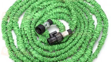 Flexibilní zahradní hadice - zelená a poštovné ZDARMA! - 20911837