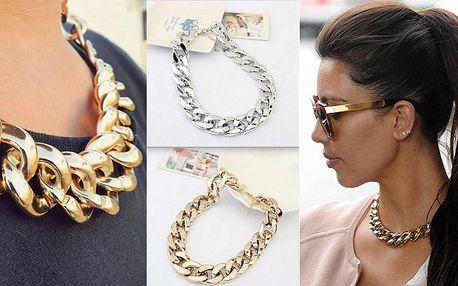 Masivní náhrdelník ve stylu Kim Kardashian