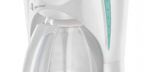 Kávovar pro přípravu překapávané kávy či čaje Sencor SCE 5000 WH