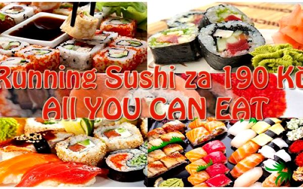Running sushi ALL YOU CAN EAT