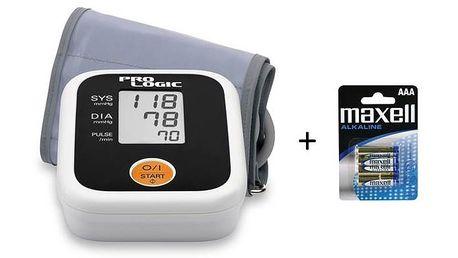Pažní tlakoměr Prologic PL100 z dílny výrobce Omron má velmi jednoduché ovládání pomocí jednoho tlačítka
