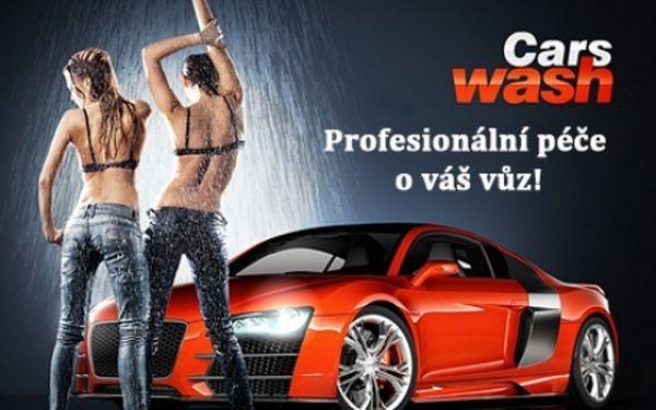 RUČNÍ MYTÍ auta a TEPOVÁNÍ INTERIÉRU profesionální autokosmetikou 3M, Sonax a Riwax! Dokonale čisté auto zvenku i zevnitř díky týmu profesionálů. Nejdůkladnější mytí vašeho vozu v automyčce Wash Cars na P-9.!