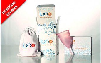 Pouhých 295 Kč za menstruační kalíšek LUNO s doručením po ČR zdarma. Nejkomfortnější dámská hygienická pomůcka ze 100% lékařského silikonu.