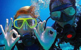 Potápěčem na zkoušku s 50% slevou!