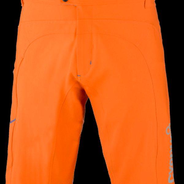 Odolné pánské MTB kraťasy s odnímatelnými vnitřními kalhotami