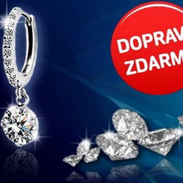 Jen 229 Kč za LUXUSNÍ NÁUŠNICE, bohatě zdobené krystaly, které září jako pravé diamanty! Na večírku, na plese, v práci či na návštěvě u kamarádů zazáříte jako skutečná hvězda!