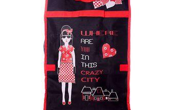 Dámská černá nákupní taška s obrázkem Rosalita McGee