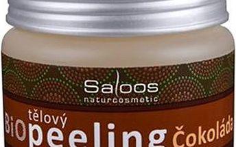 Salus Tělový Bio Peeling Čokoláda 140ml Tělová přírodní kosmetika W Hydratuje a zvláčňuje