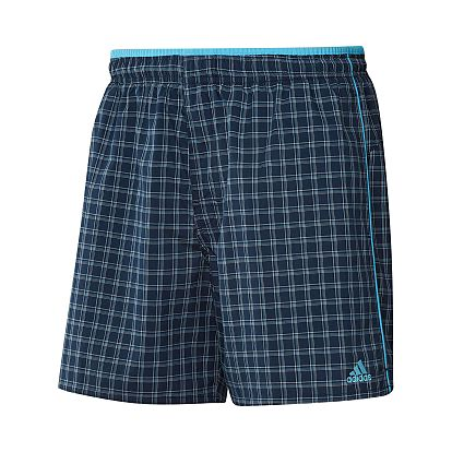 adidas YARN DYE CHECK SHORT XXL