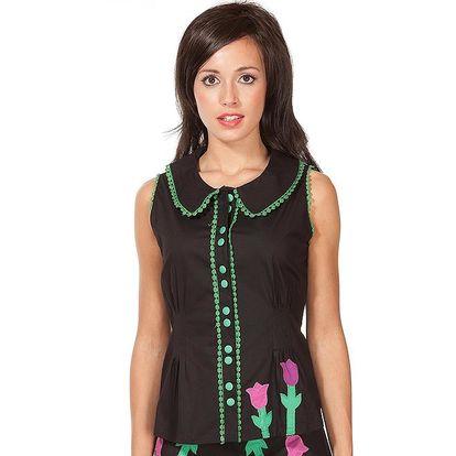 Dámská košile bez rukávů Rosalita McGee