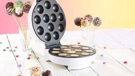 Pop cake maker Ceramic Blade NC 3668 – domácí výrobník pečených lízátek a koblížků