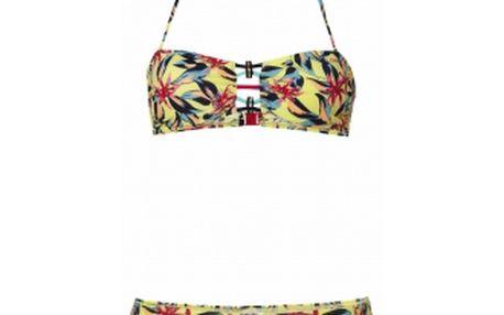 Dámské bikiny o'neill pw flower bandeau bikini bc