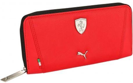 Stylová dámská peněženka puma ferrari ls wallet f červená