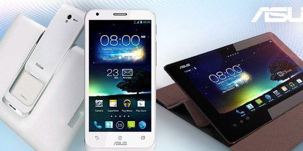 Tablet a mobil v jednom - Asus PadFone 2 (64 GB) v bílé nebo černé barvě