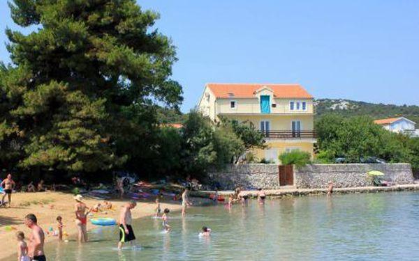 Chorvatsko, oblast Severní Dalmácie, bez stravy na 8 dní