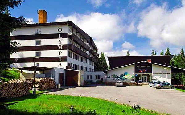 3denní dovolená pro 2 osoby ve Sporthotelu Olympia*** na Šumavě