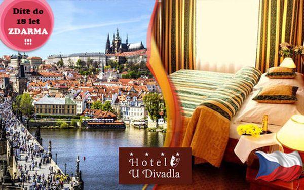 Víkend plný 4* luxusu v Praze pro DVA. Dítě do 18 let zdarma