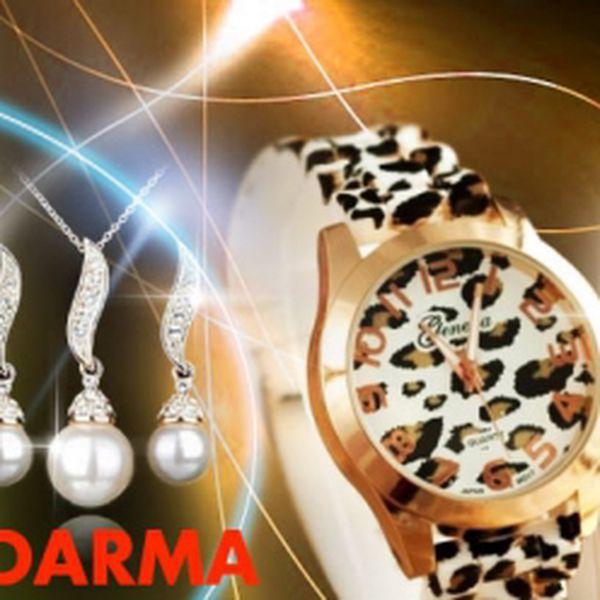 Nejen muži mohou být lvi salónů! Objevte v sobě šelmu s elegantními hodinkami Geneva ve stylovém leopardím provedení za senzačních 289 Kč VČETNĚ POŠTOVNÉHO a se ZLATÝM SETEM ZDARMA! Vystrčte drápky a ušetřete 57%!
