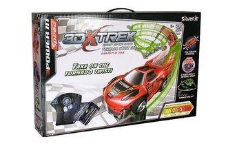 Silverlit X-Trek Dráha dlouhá 6 metrů, jedno auto, jedna vysílačka