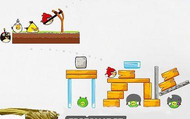 Samolepka na zeď Angry birds!