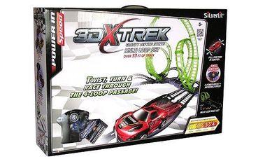Silverlit X-Trek Dráha dlouhá 10 metrů, jedno auto, jedna vysílačka