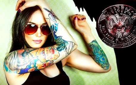 Tetování levně ze vyhlášeného studi a v Praze