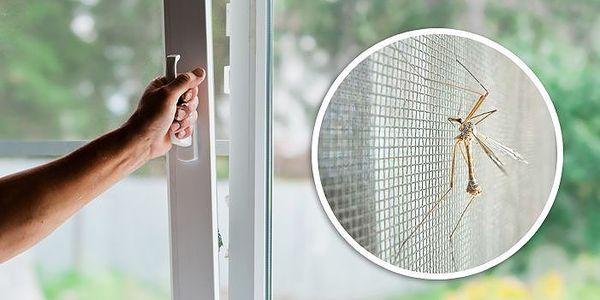Síťka do okna proti hmyzu s poštovným v ceně