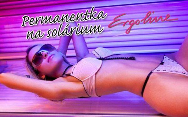 Solárium za 4 Kč/min – Ergoline Turbo Power 500! 50min. přenosná PERMANENTKA do studia Balzam na Praze 10 v areálu plaveckého stadionu SLAVIA! Získejte dokonalé opálení jako od moře!