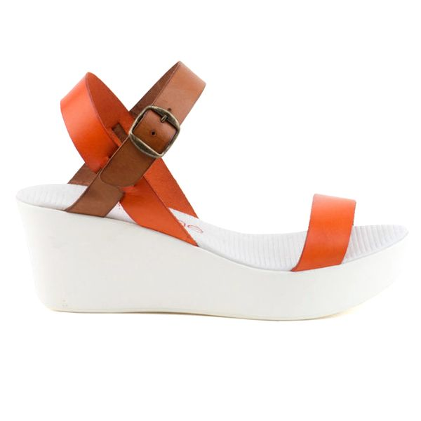 Dámské sandály s barevnými pásky Liberitae