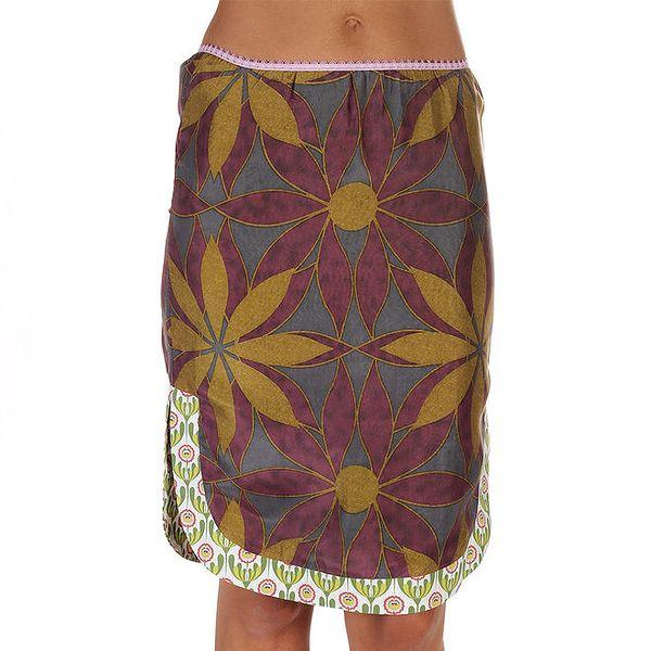 Dámská barevná sukně s velkými květy Custo Barcelona