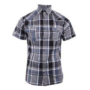 Pánská modro-šedě kostkovaná košile Authority