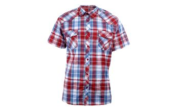 Pánská červeno-modro-bíle kostkovaná košile Authority
