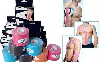 Tejpovací pásky Kinesio pro regeneraci svalů