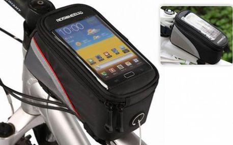 Voděodolné pouzdro na kolo pro váš smartphone a další nezbytnosti. Ideální pro vaše letní výlety. Poštovné již v ceně!