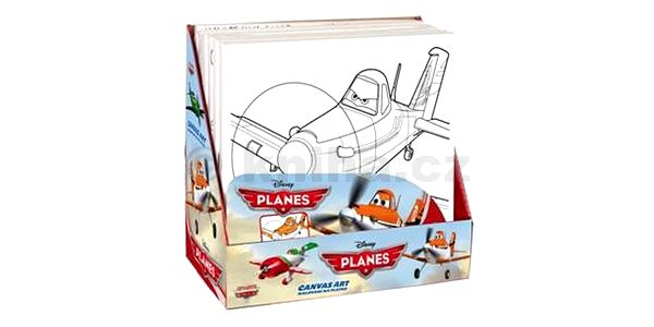 Malování na plátno Letadla