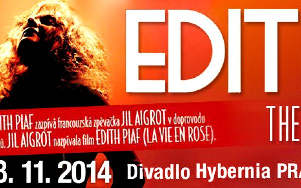 Koncertní show s největšími hity Edith Piaf